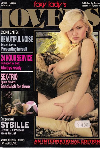 Porn Magazine Foxy Lady Lovers 49